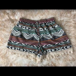 Women's Tribal Print Xhilaration Shorts